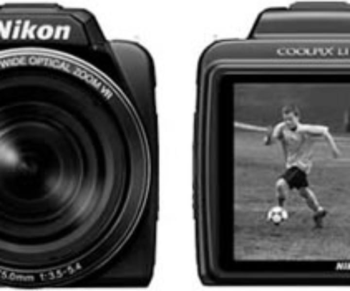 Nikon Coolpix L110 da 12,1 MP con 15x ottico Riduzione Vibrazioni (VR) Zoom e LCD da 3,0 pollici