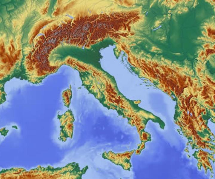 Cartina Dellitalia Alpi E Appennini.Viaggio Nella Geografia Dell Italia Tra Monti Colline E Mari